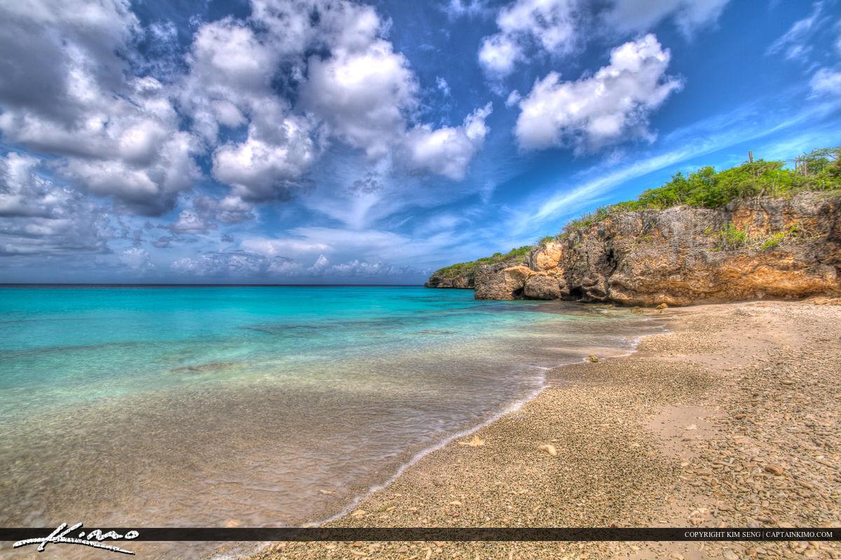 Curacao Travel Caribbean Islands Blue Sky and Ocean