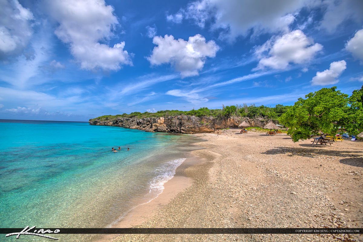 Curacao Travel Caribbean Islands People Swimming