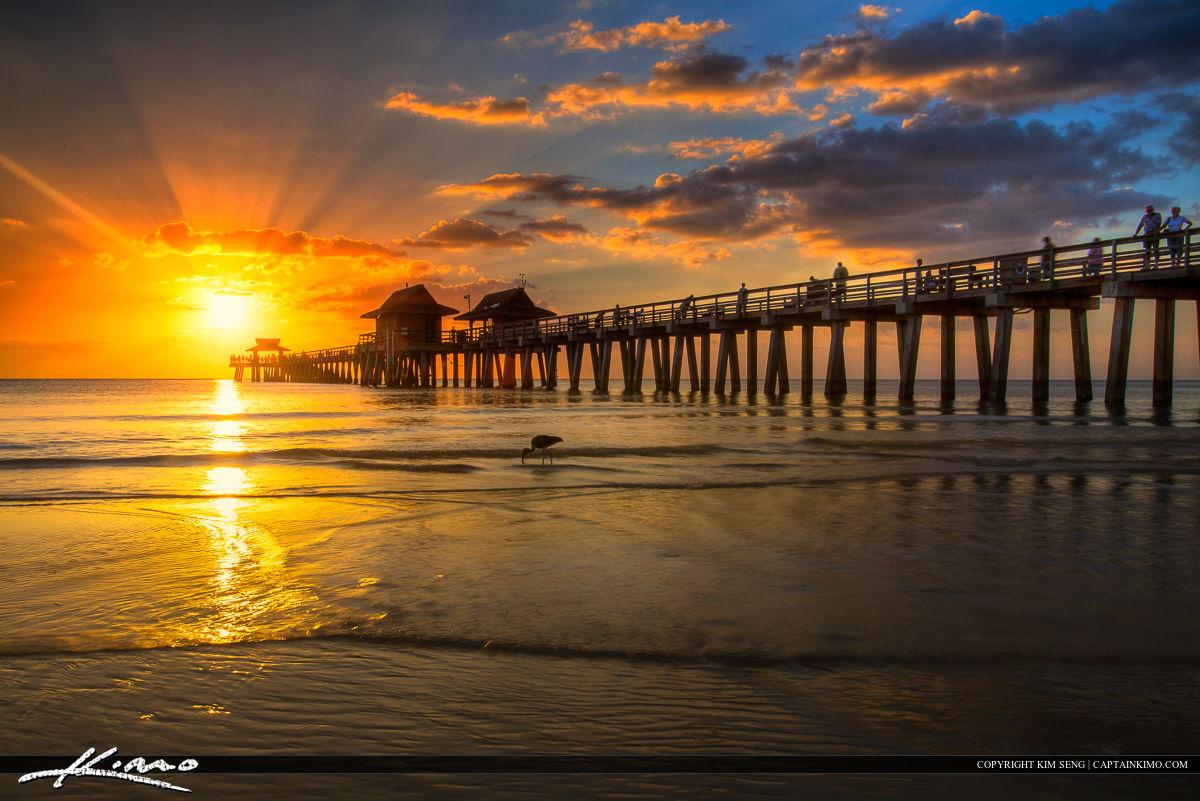 Naples Florida Sunset at Pier