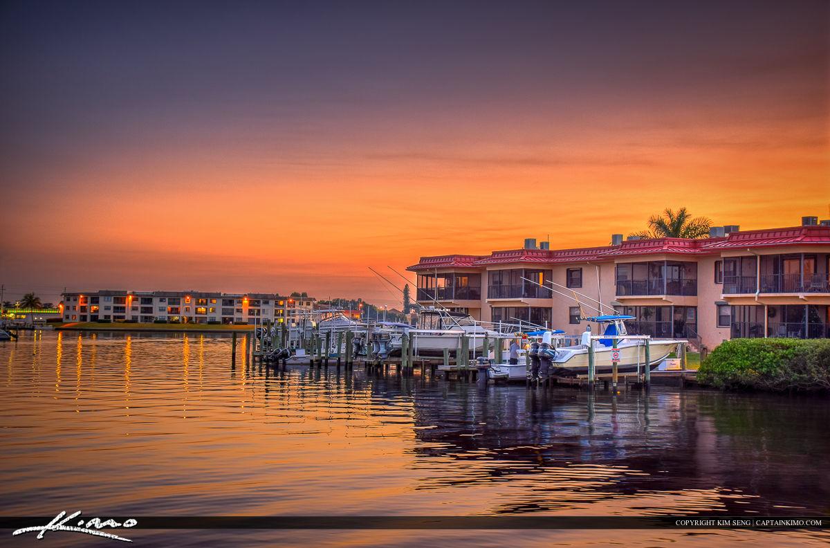 North Palm Beach Waterway Boat Dock