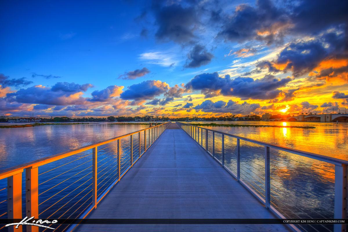 West Palm Beach City at Waterway Pier