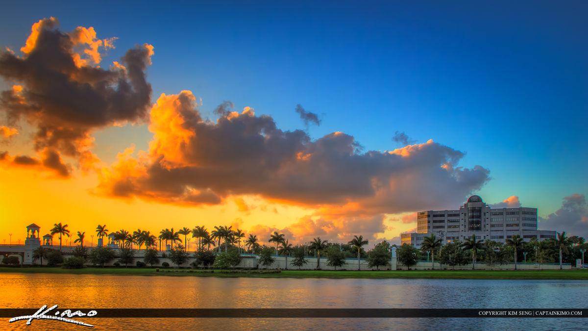 PGA Boulevard Bridge Palm Beach Gardens Medical Building