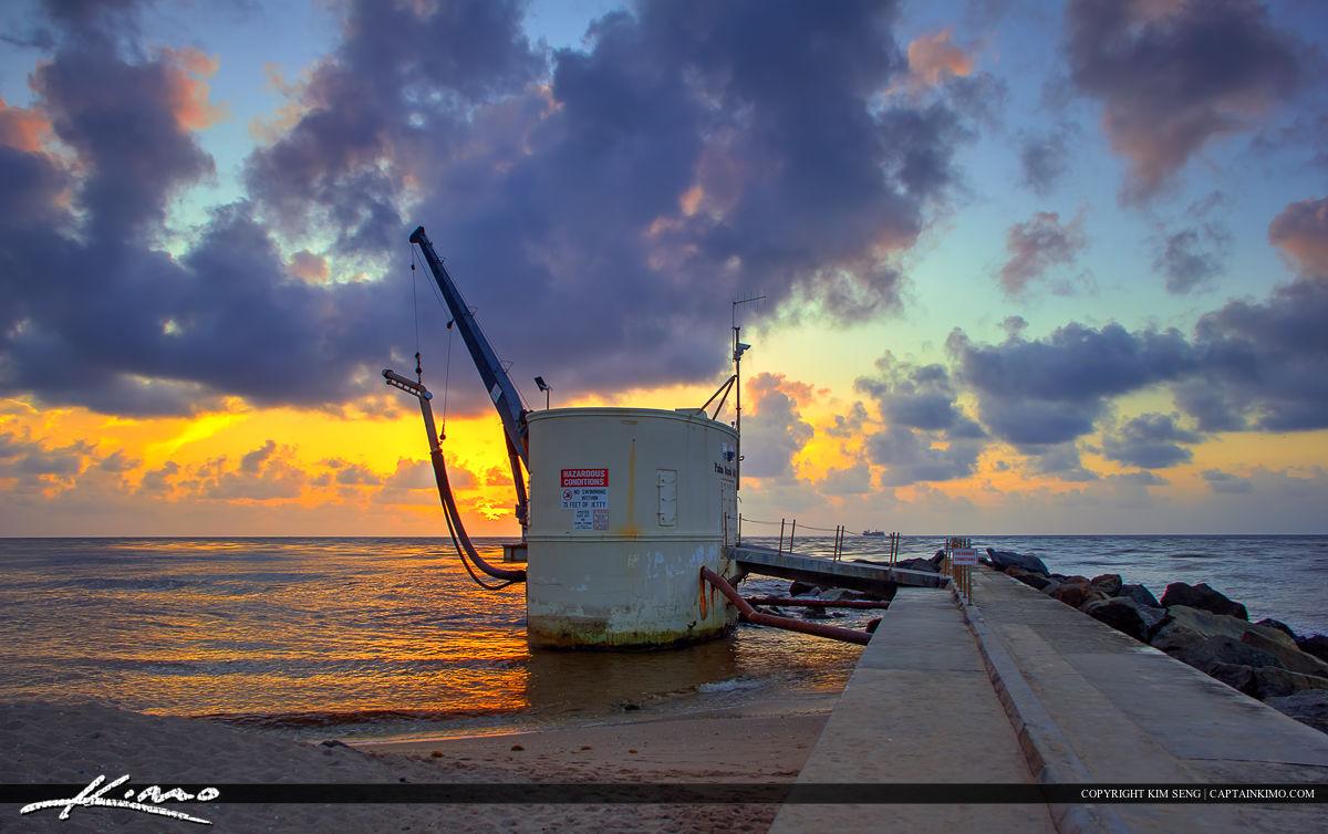 Sunrise Singer Island Beach Florida Palm Beach Inlet