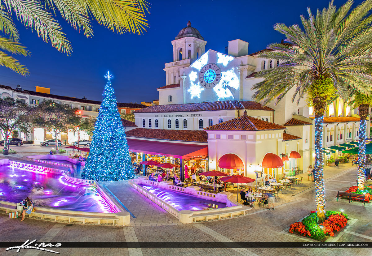 Cityplace Christmas Tree West Palm Beach
