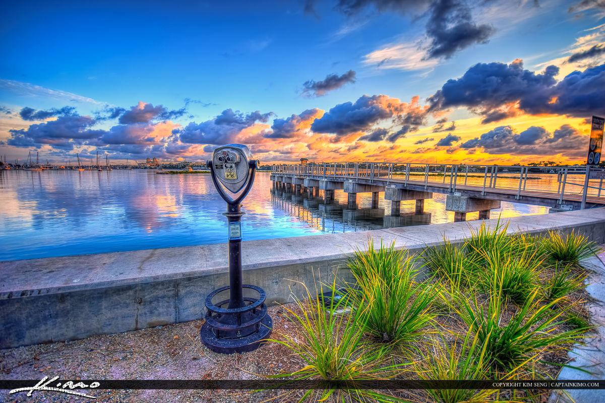 West Palm Beach Pier at Flagler Drive