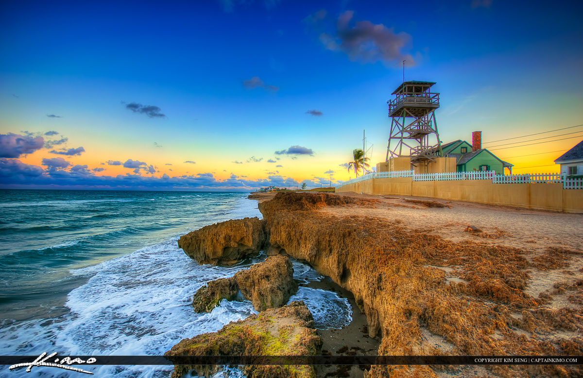 Lookout Tower at the House of Refuge in Stuart Florida