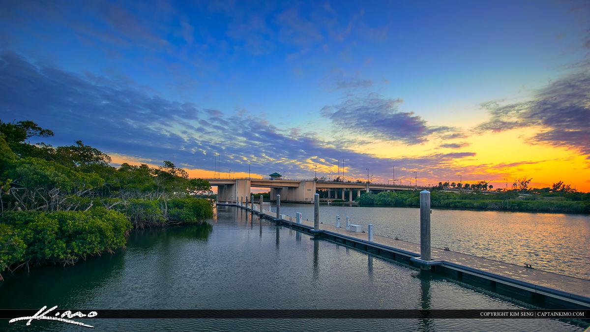 Harborside Place Jupiter Waterway along Indiantown Bridge