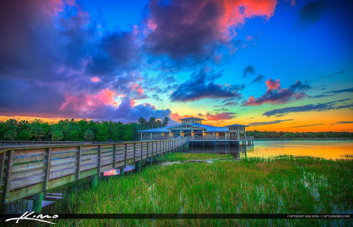 Colors Over Wetlands Delray Beach Florida