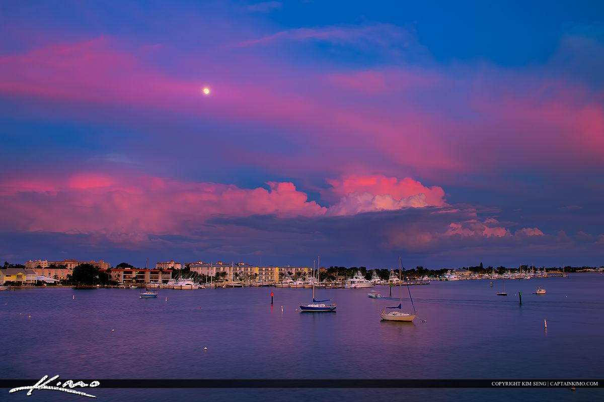 Moon Rise Riviera Beach Singer Island Florida