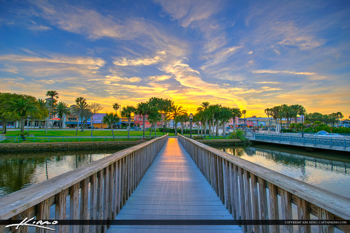 Daytona Beach Florida City Island Park