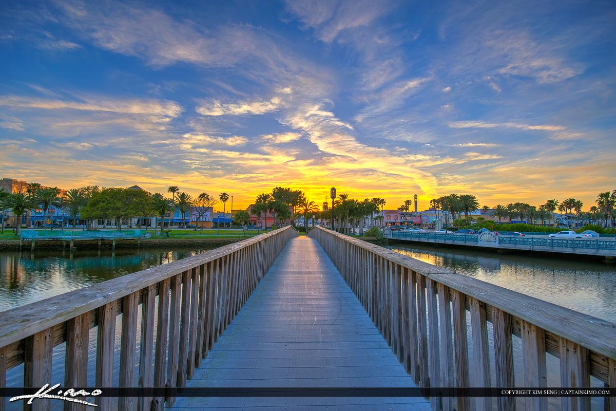 Daytona Beach Florida Boardwalk Library