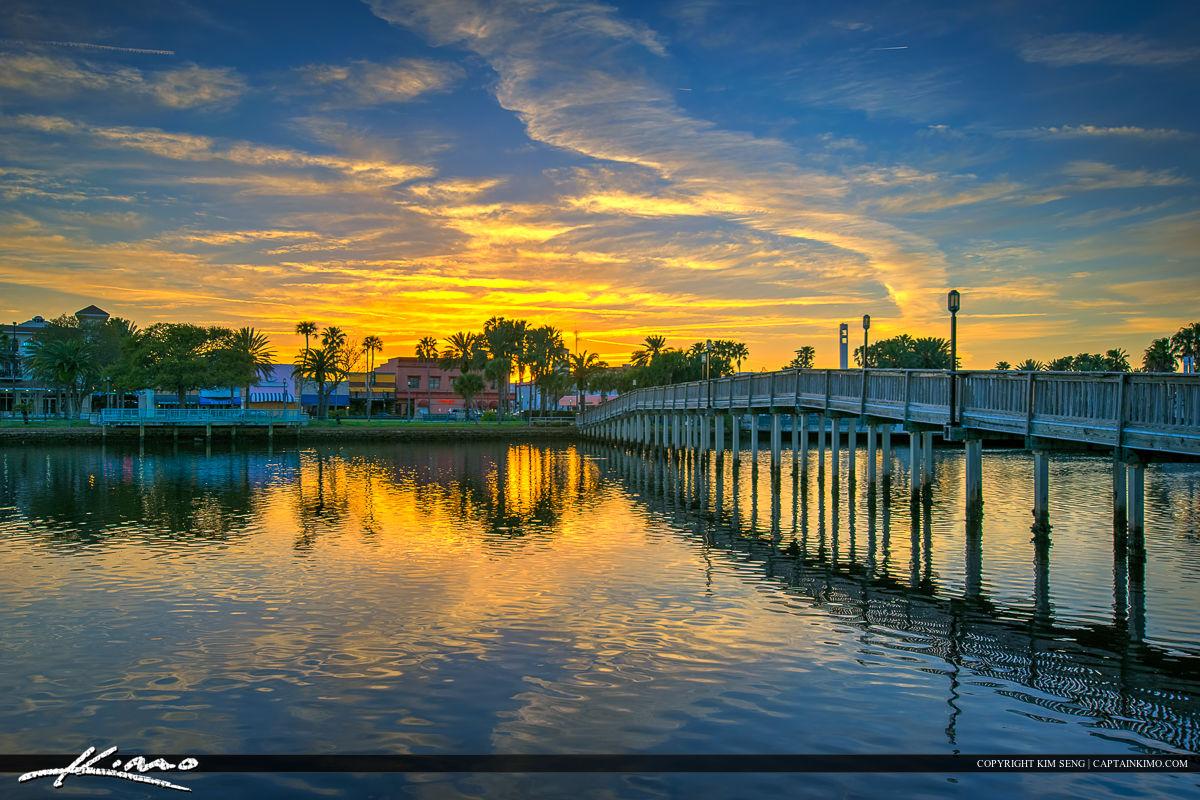 Daytona Beach Florida Downtown at the Park