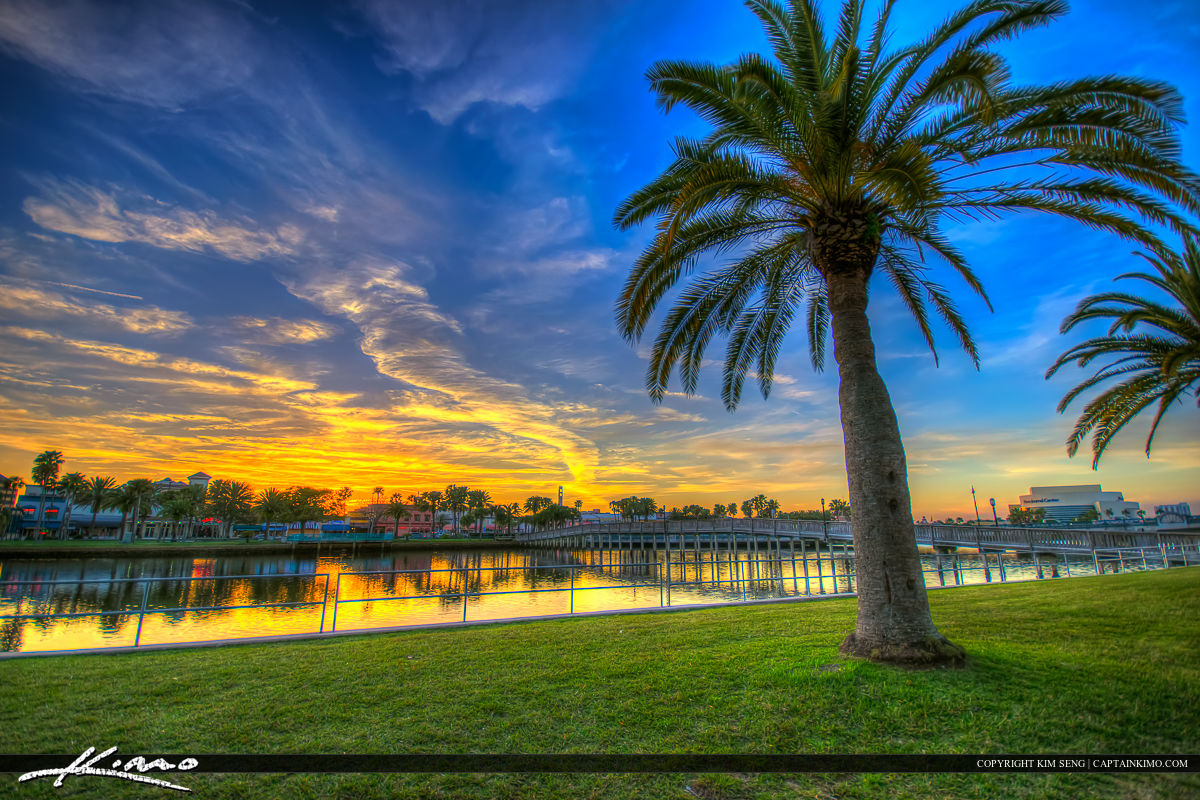 Daytona Beach Florida Sunset Halifax River