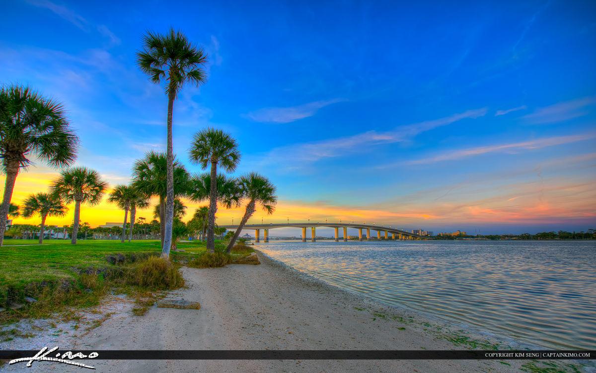 Daytona Beach Florida International Speedway Bridge