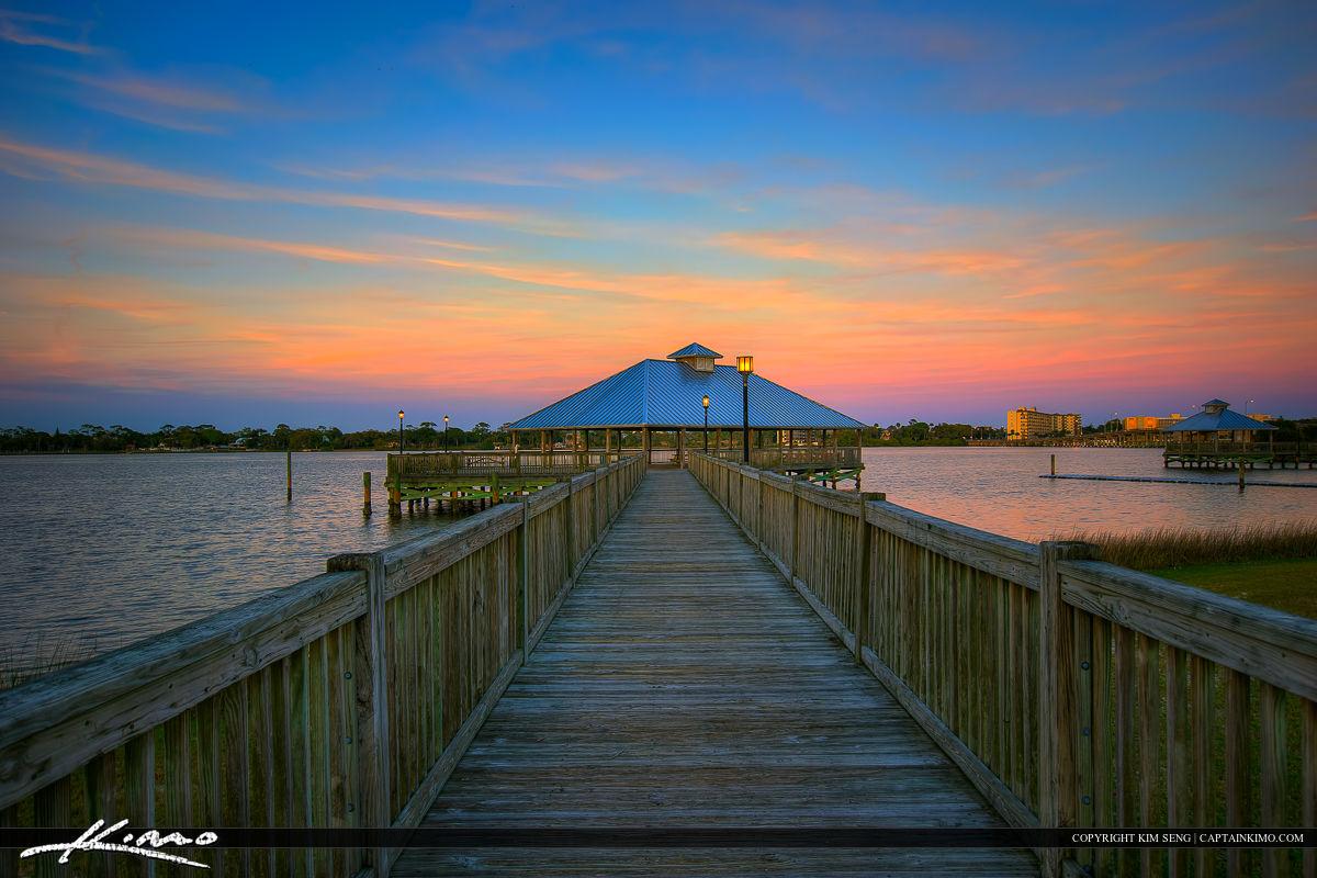 Daytona Beach Florida Pier at Boardwalk