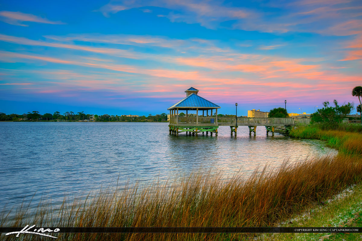 Daytona Beach Florida City Island Park River