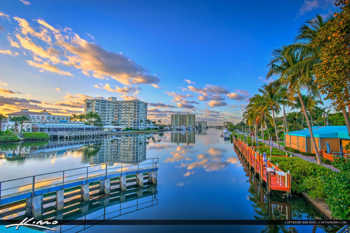 Delray Beach Florida Downtown Waterway Condos