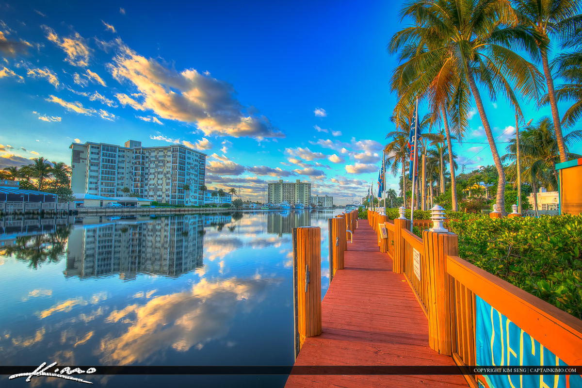 Delray Beach Florida Downtown Palm Beach County