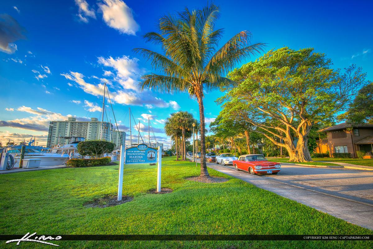 Delray Beach Florida Municipal Marina