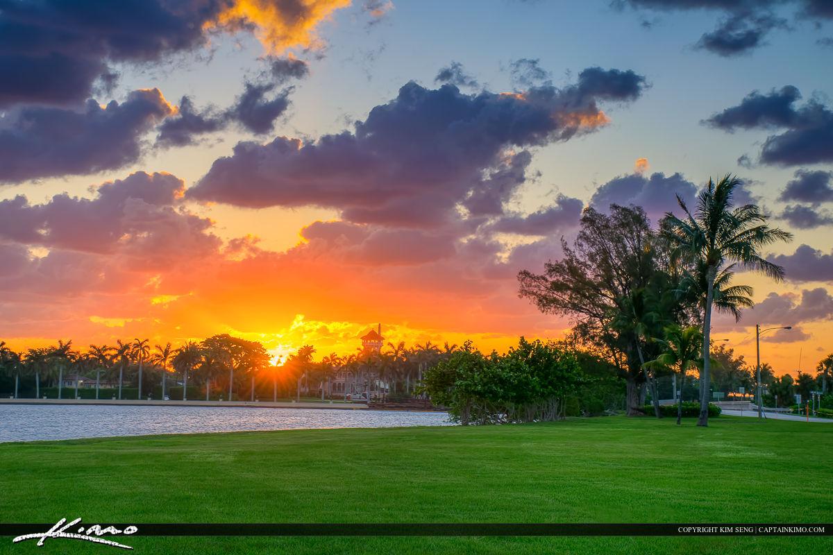 Palm Beach Island Sunrise from Bingham Island