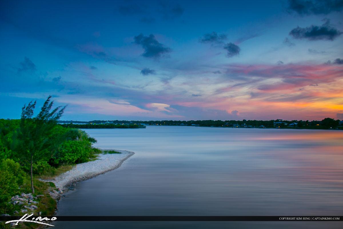 Sebastian Florida Photos Sunset Saint Sebastian River