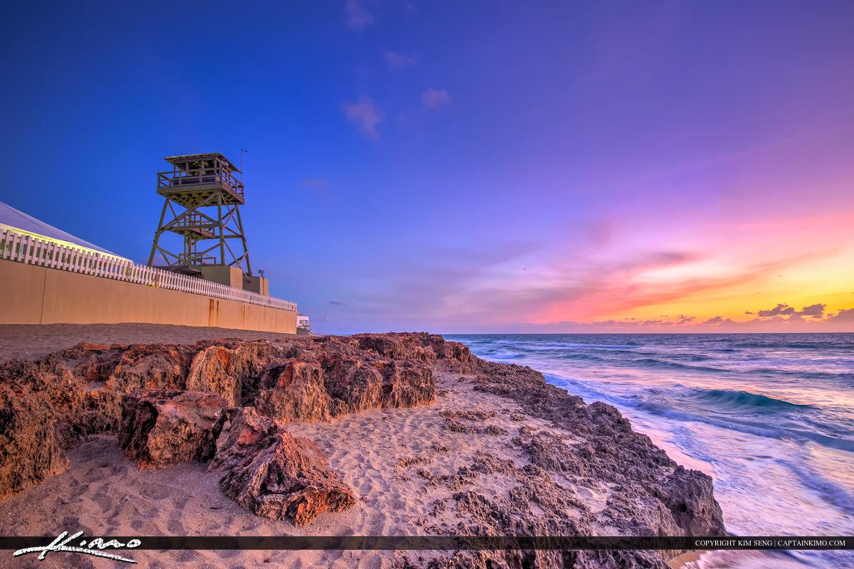 House of Refuge Stuart Florida Sunrise at Beach Martin County