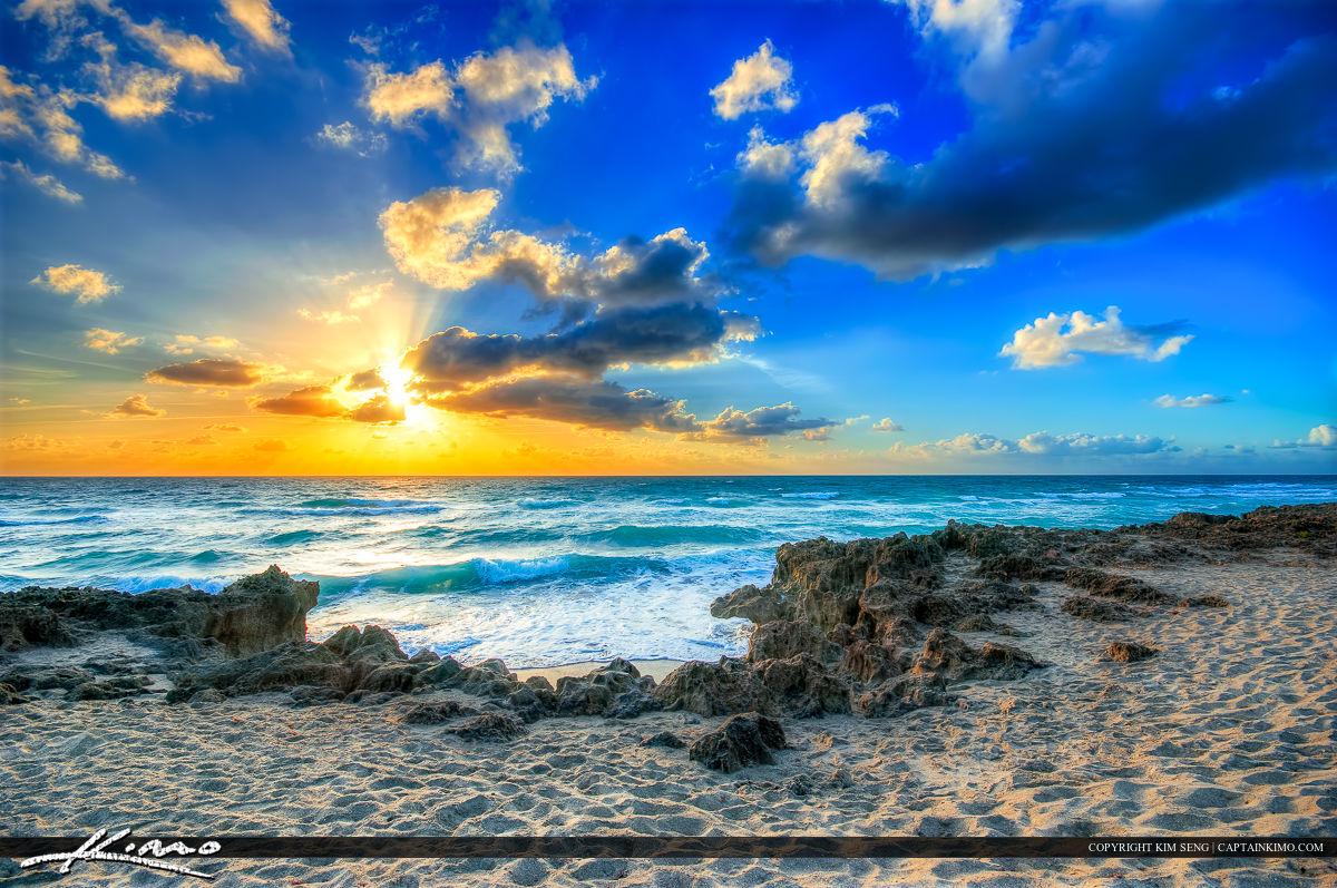 Beach Sunrise from House of Refuge Stuart Florida