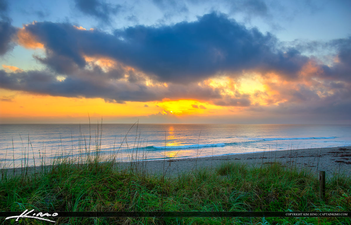 Hobe Sound Florida at BEach for Sunrise