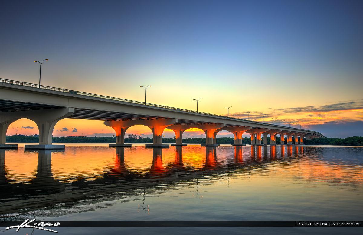 Palm City Florida Sunrise along St Lucie River
