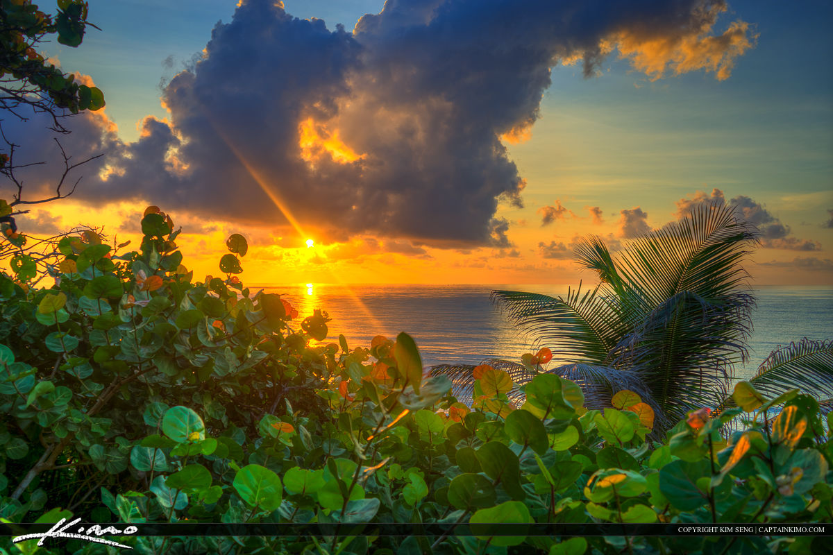 Boca Raton Sunrise from Beach