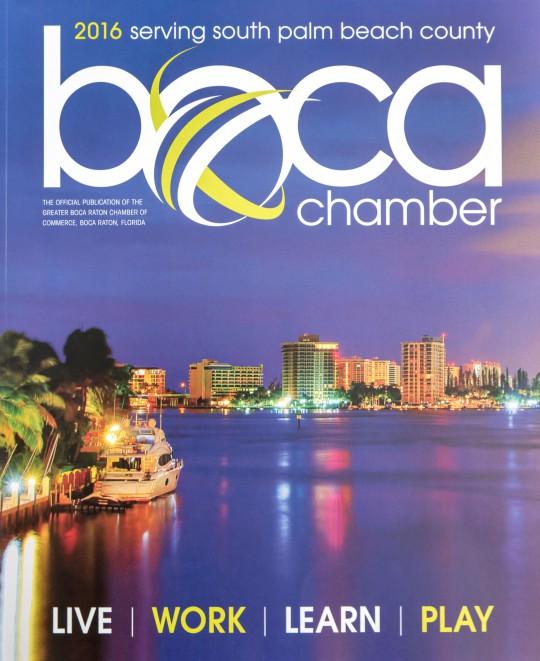 Boca Chamber Magazine