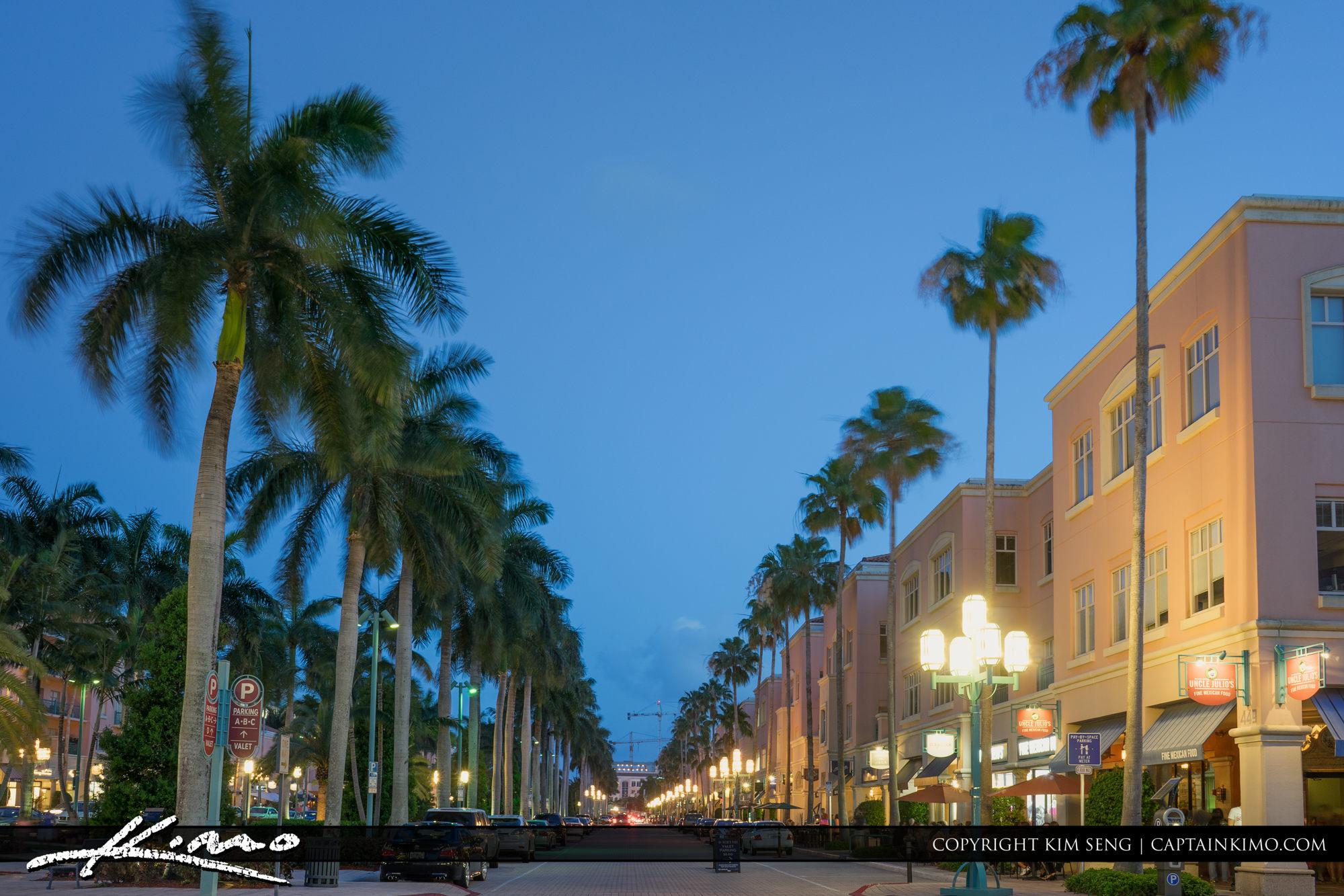 Boca Raton Lifestyle Photos Mizner Park Street