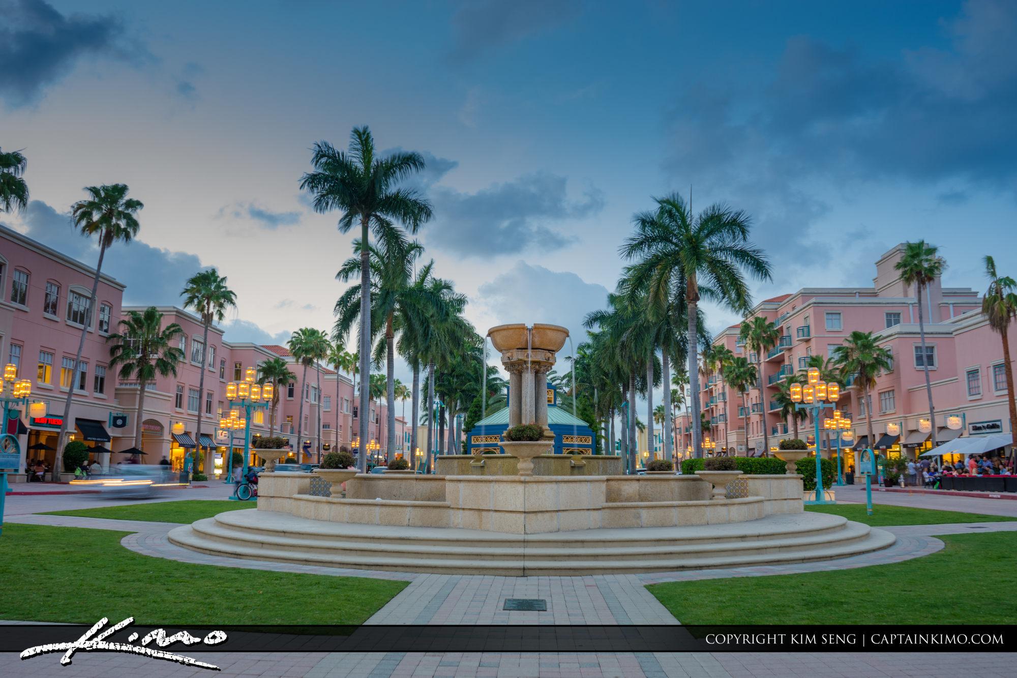 Boca Raton Lifestyle Photos Night Life Mizner Park