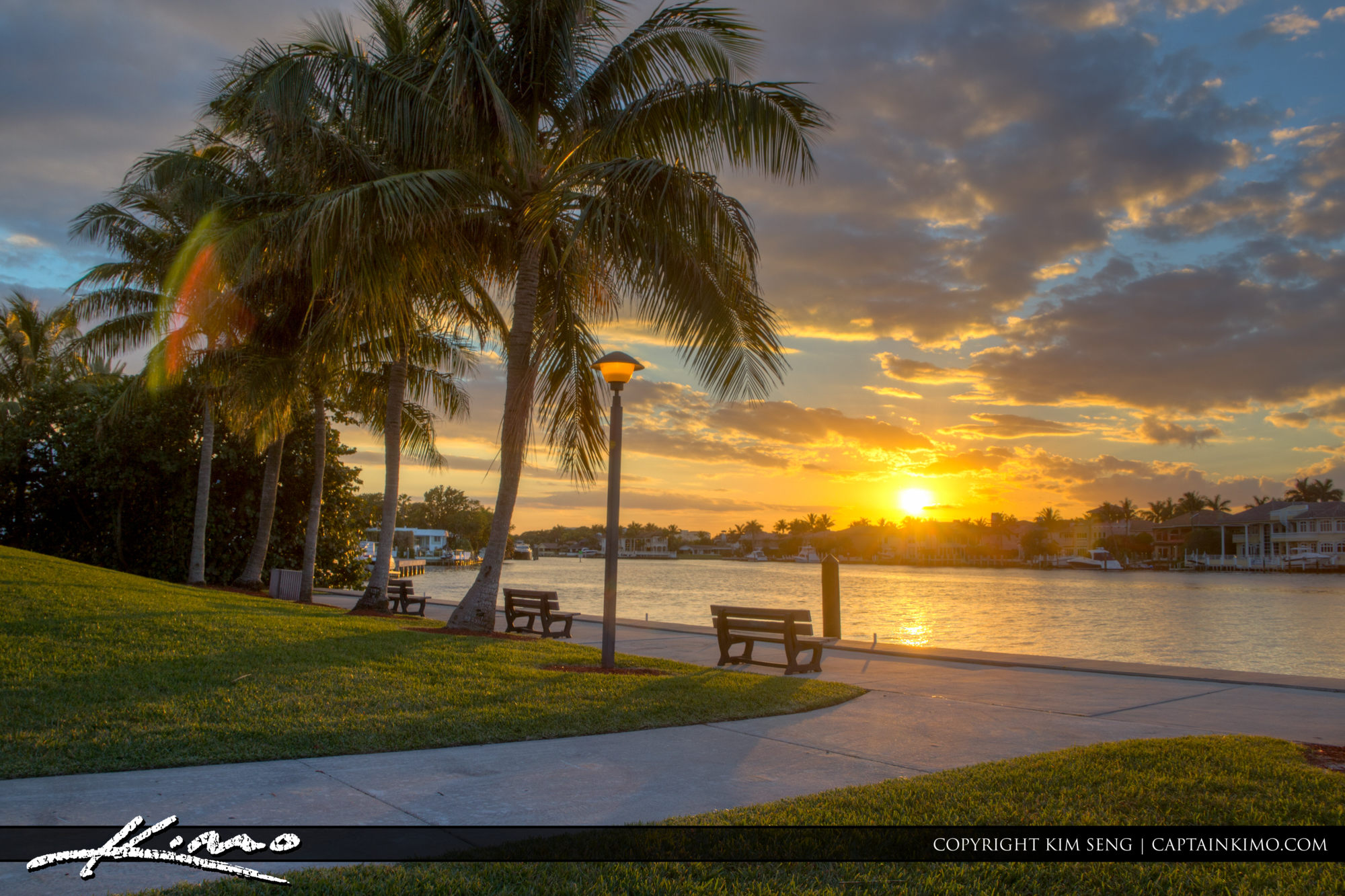 Boca Raton Lifestyle Photos Red Reef Parl Sunset