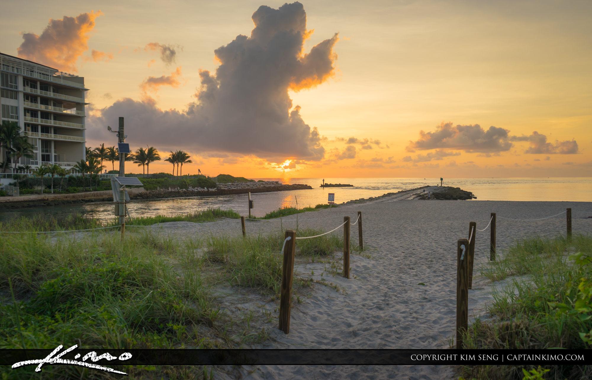 Boca Raton Lifestyle Photos Sunrise at Inlet