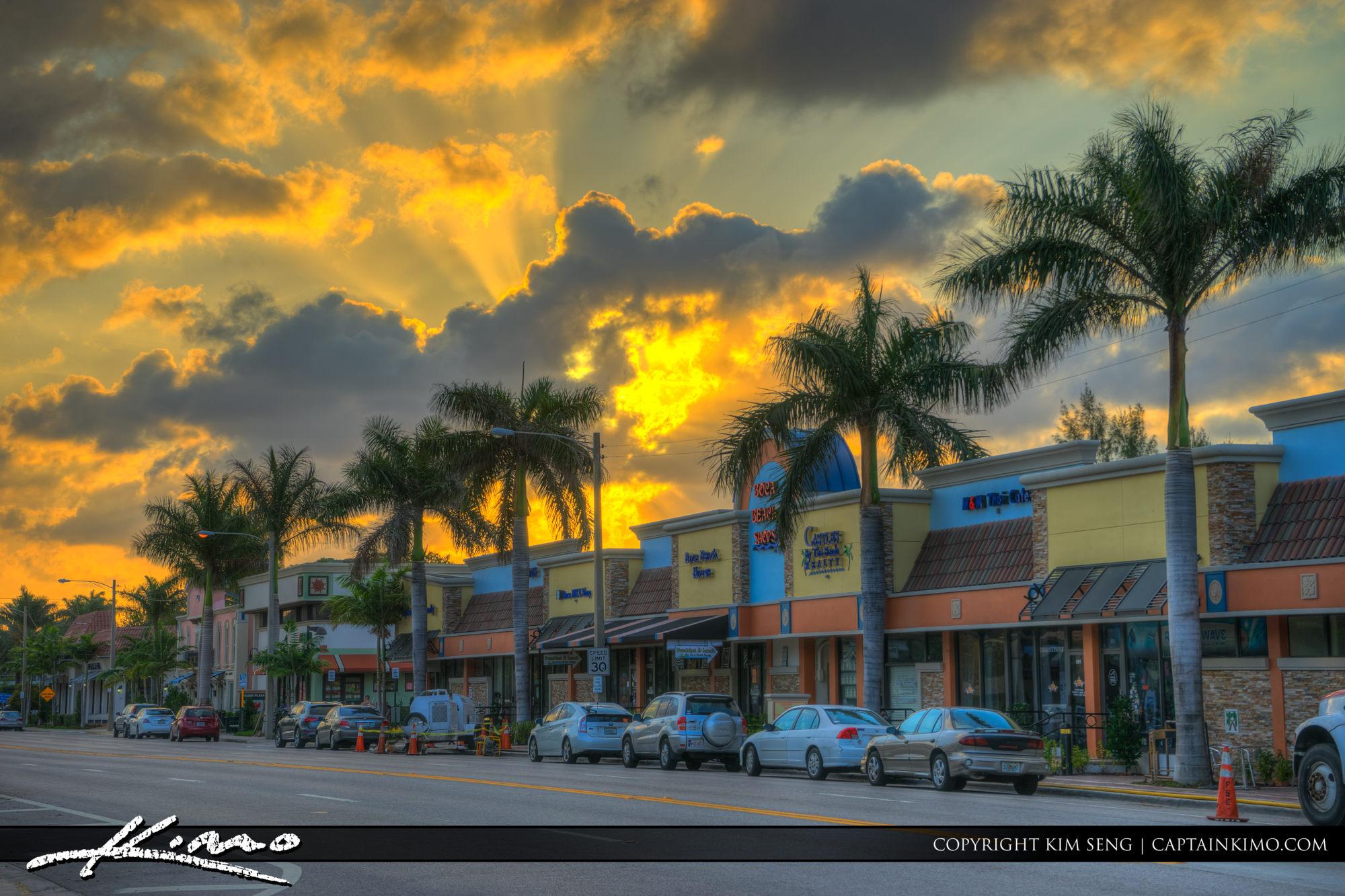 Boca Raton Lifestyle Photos Sunset Pallmetto Park Road