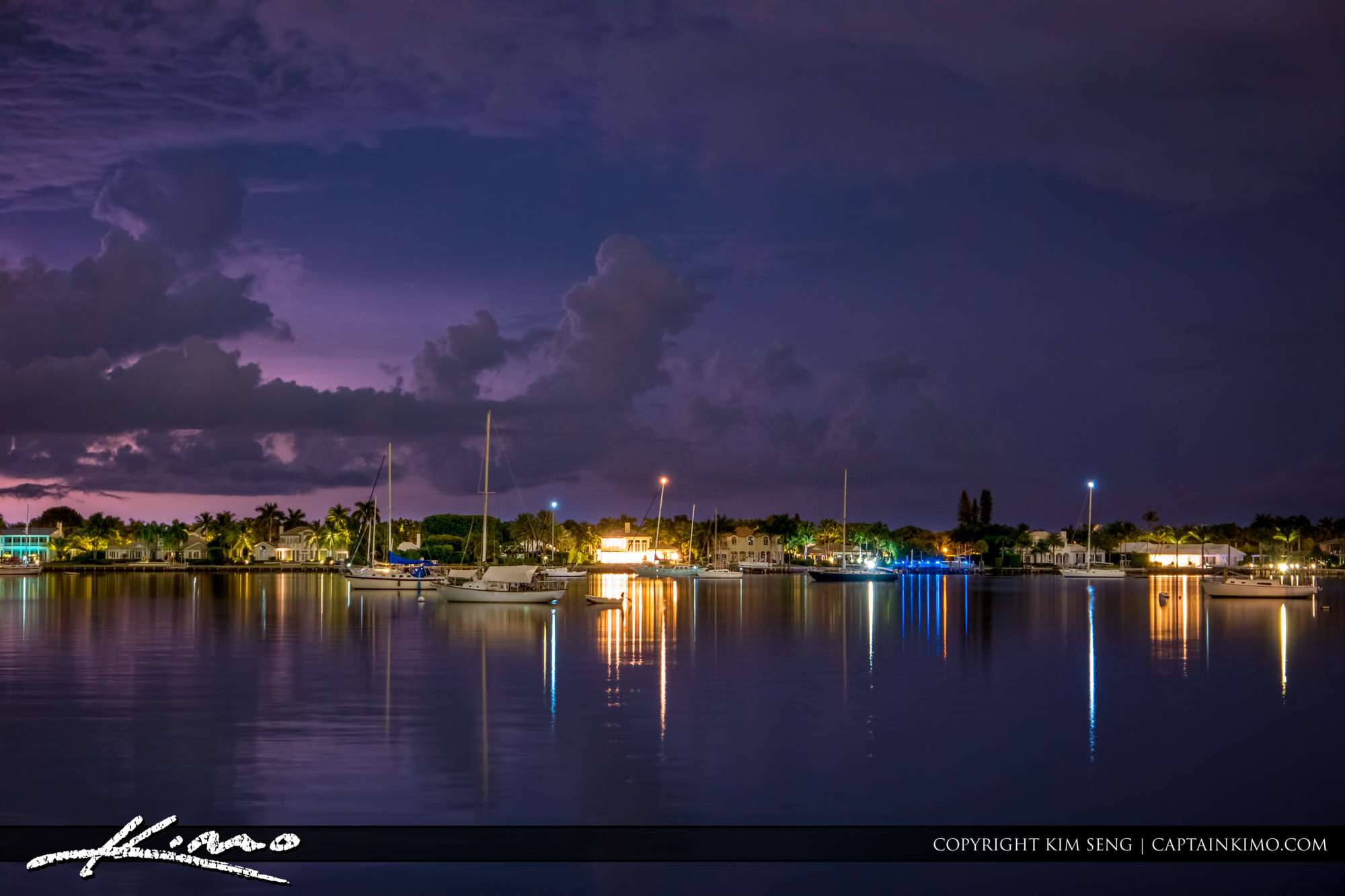 North Palm Beach Lake Worth Lagoon Storm