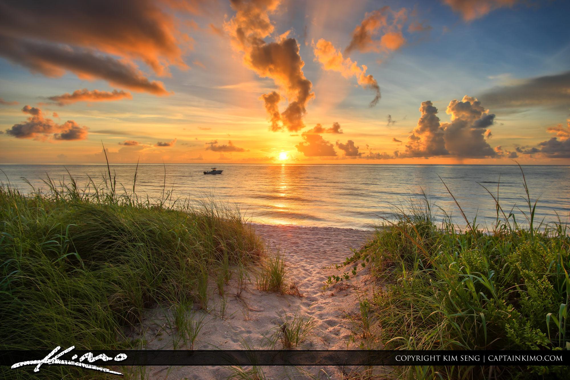 Path to Ocean Sunrise Boynton Beach