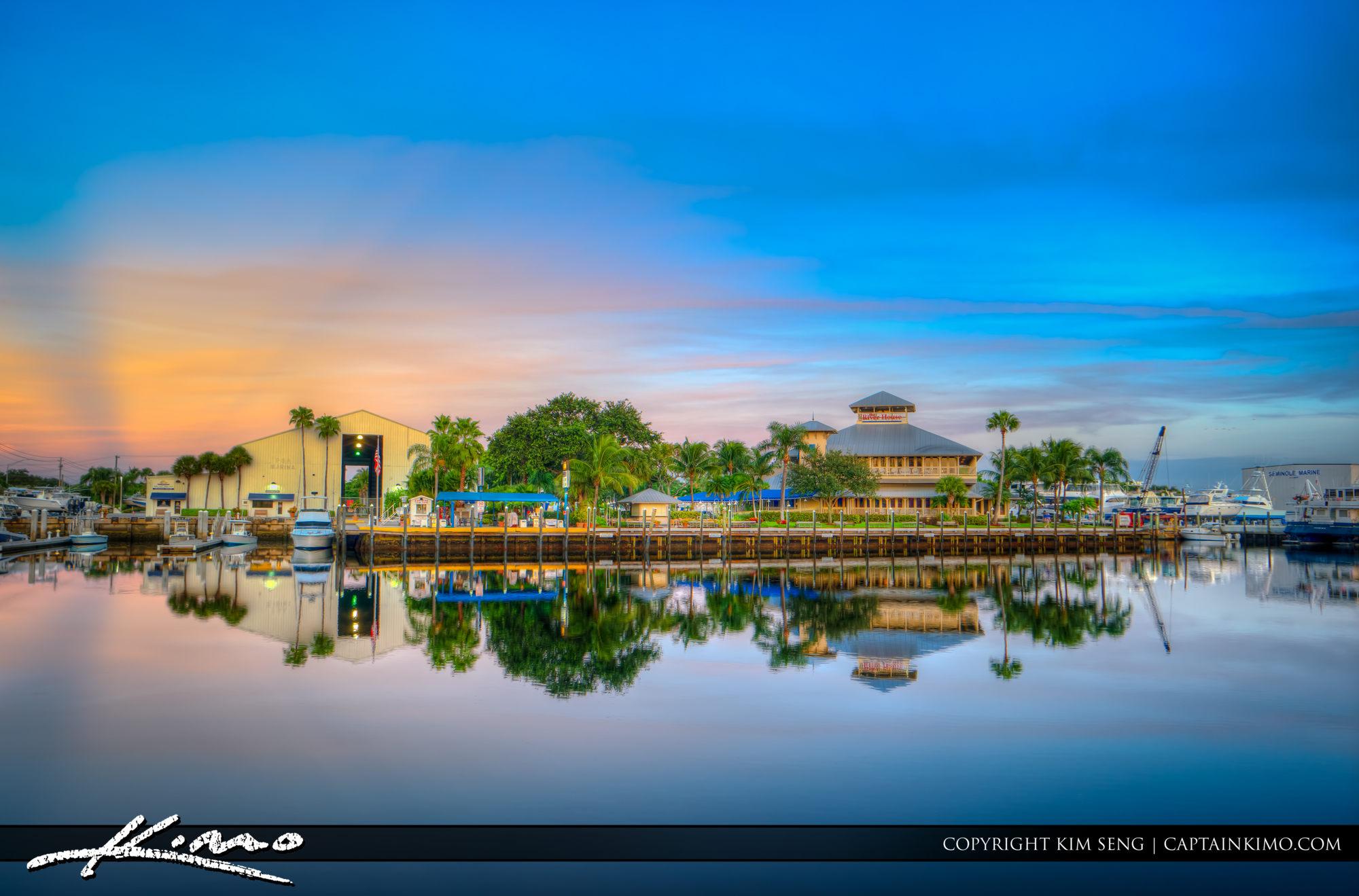 Riverhouse and PGA Marina Palm Beach Gardens Waterway
