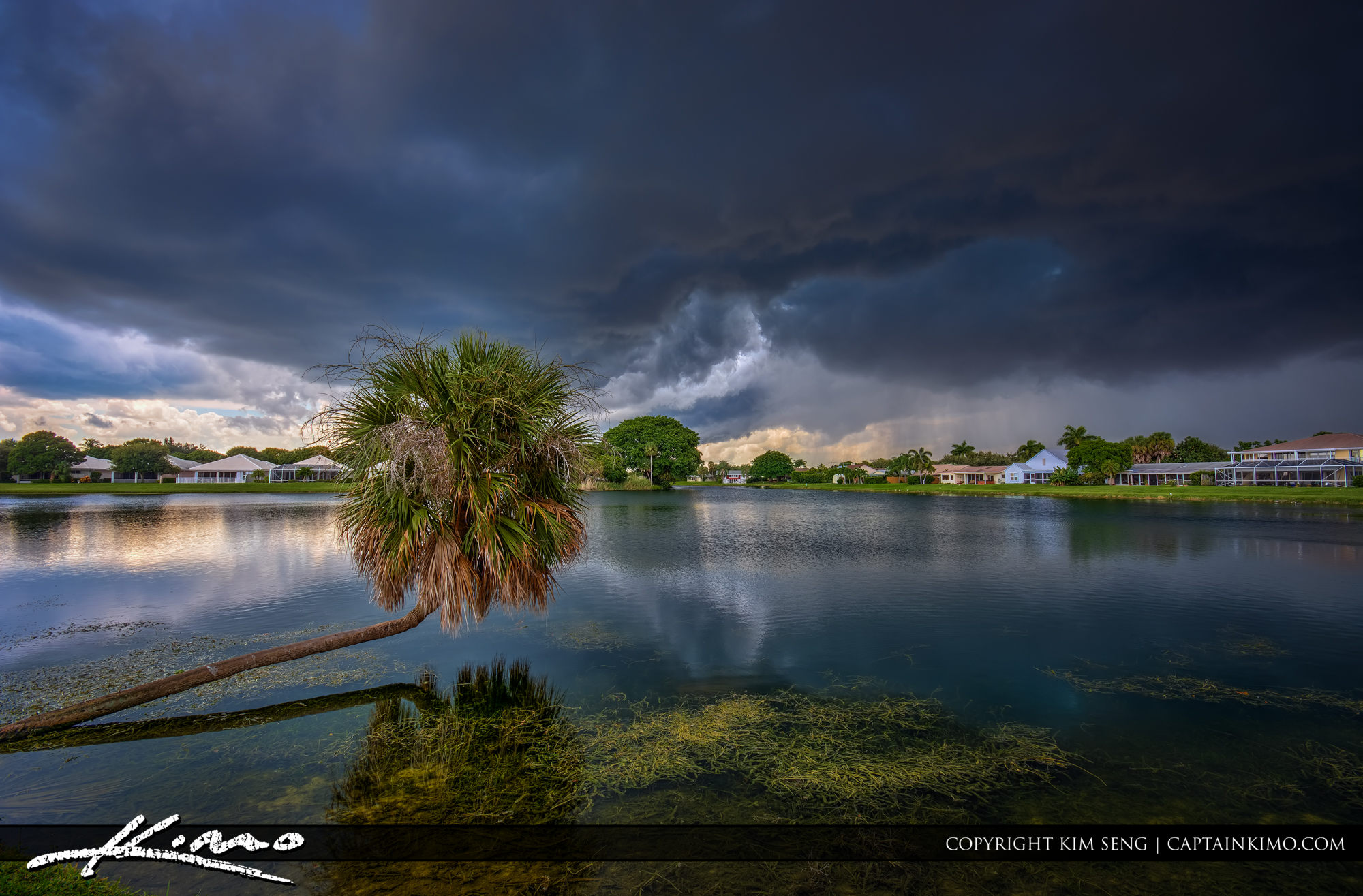 Storm Clouds Over Lake Catherine PBG Florida