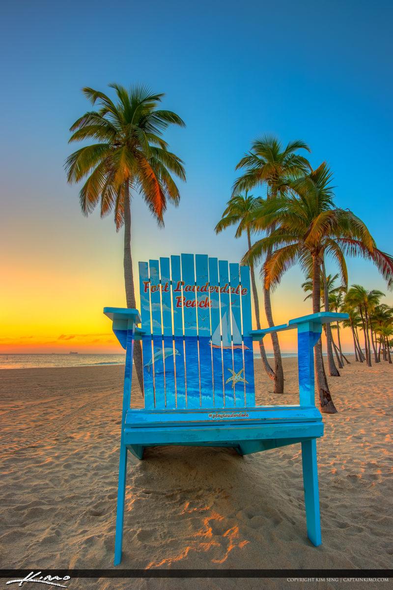 Sunrise Fort Lauderdale Beach Chair
