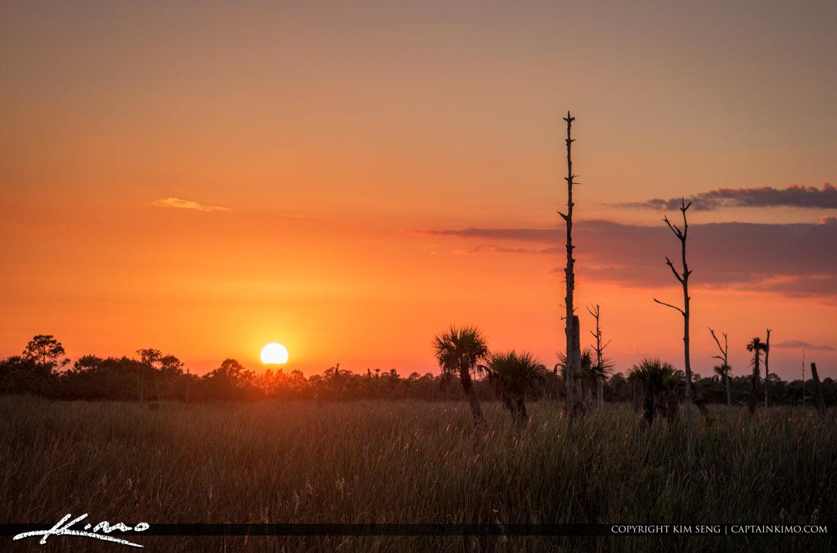Sunset Over Melbourne Viera Florida