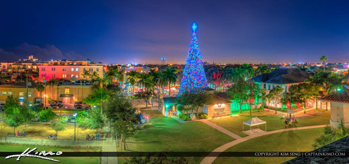 Delray Beach 100ft Christmas Tree 2015
