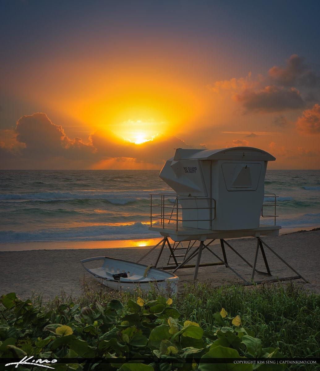 West Palm Beach Sunrise Palm Beach Island