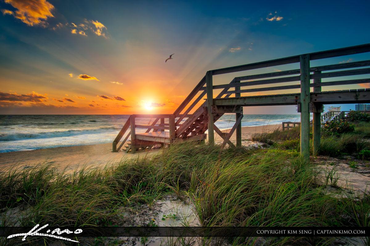 Jaycee Park Vero Beach Florida Sunrise