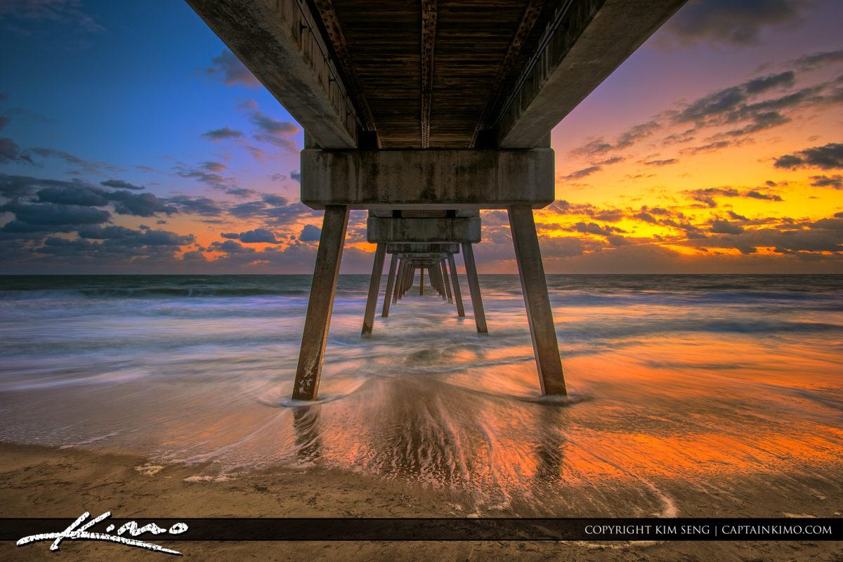 Vero Beach Pier by Jaycee Park