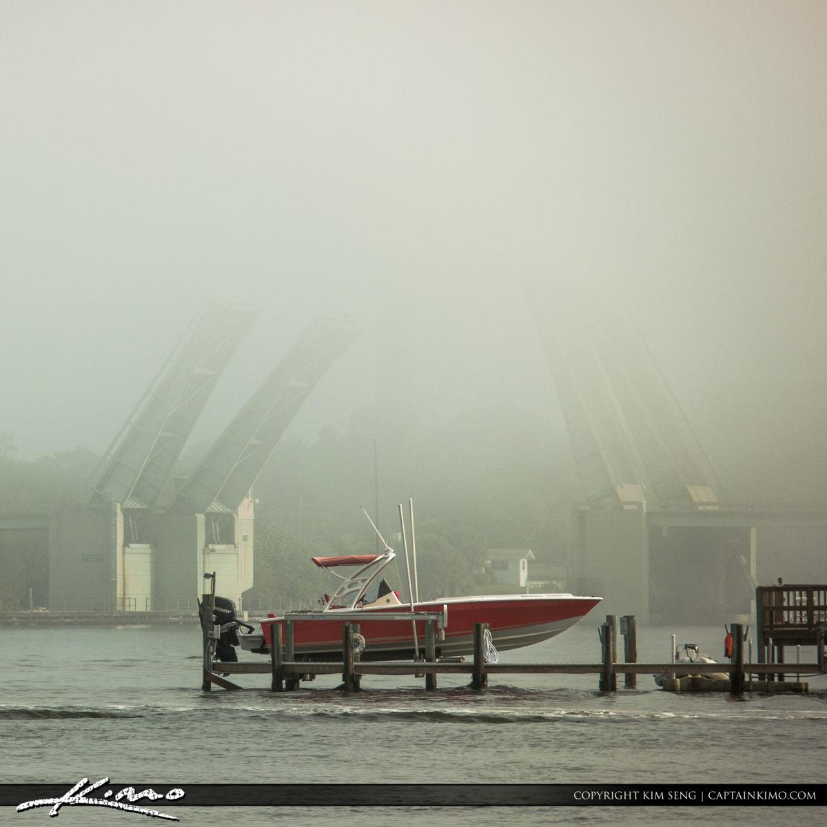 Jupiter Lighthouse US 1 Bridge Fog