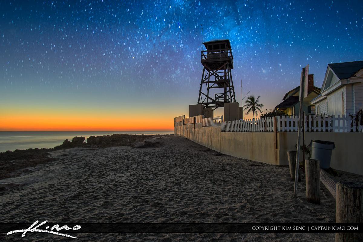 House of Refuge Stuart Florida Milky Way Stars