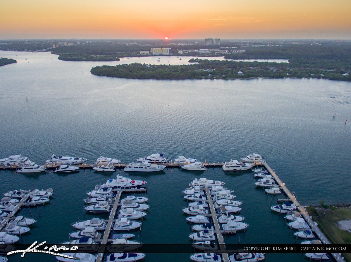 Haulover Park Florida Boat at Marina