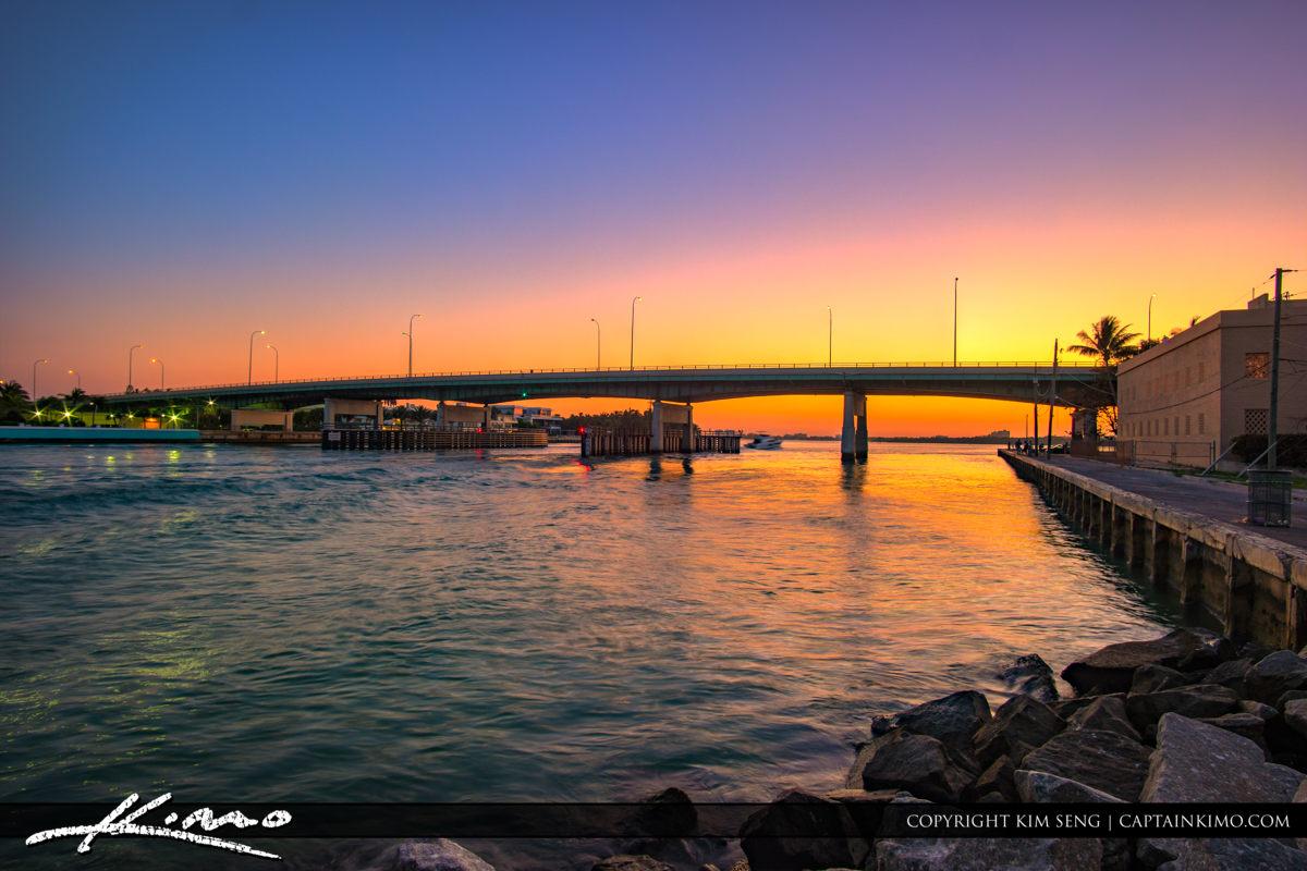Haulover Park Florida A1A Bridge Collins Ave